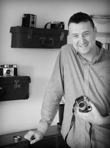 Me and a few old cameras