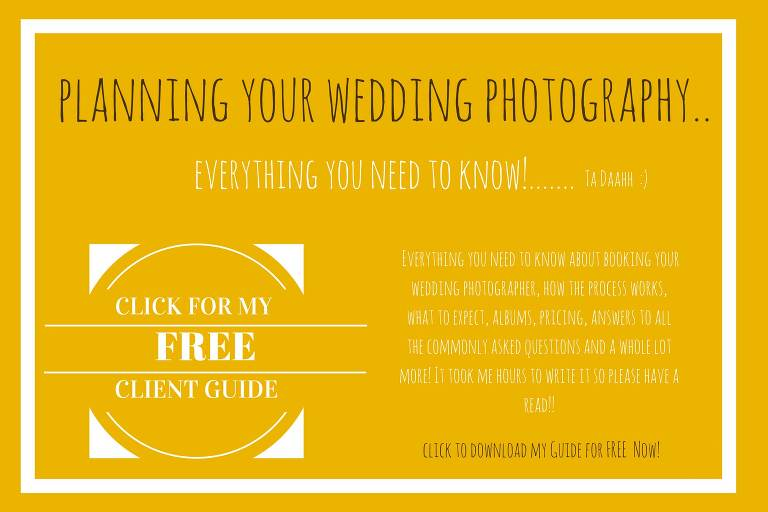 Cambridge wedding photography client guide