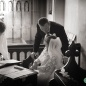 Harlton church wedding ceremony