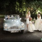 Morris minor wedding