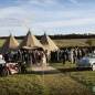 Tipi wedding near Cambridge