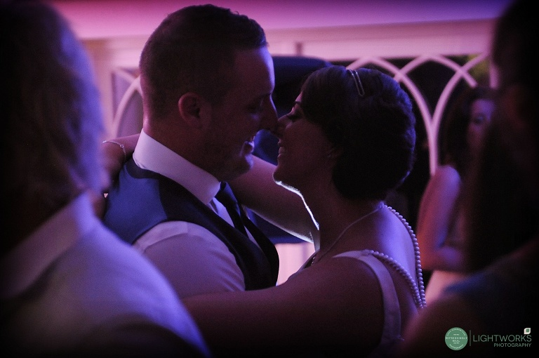 Sheene Mill wedding - first dance