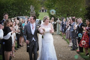 Bubble confetti at Layer Marney Tower Essex