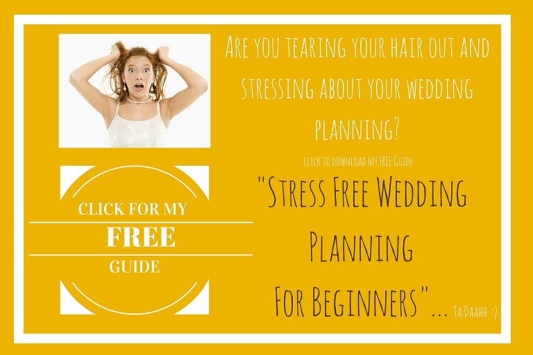 Stress Free Wedding Planning for Beginners