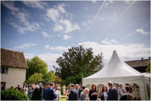 Burwash manor - wedding in the secluded walled garden