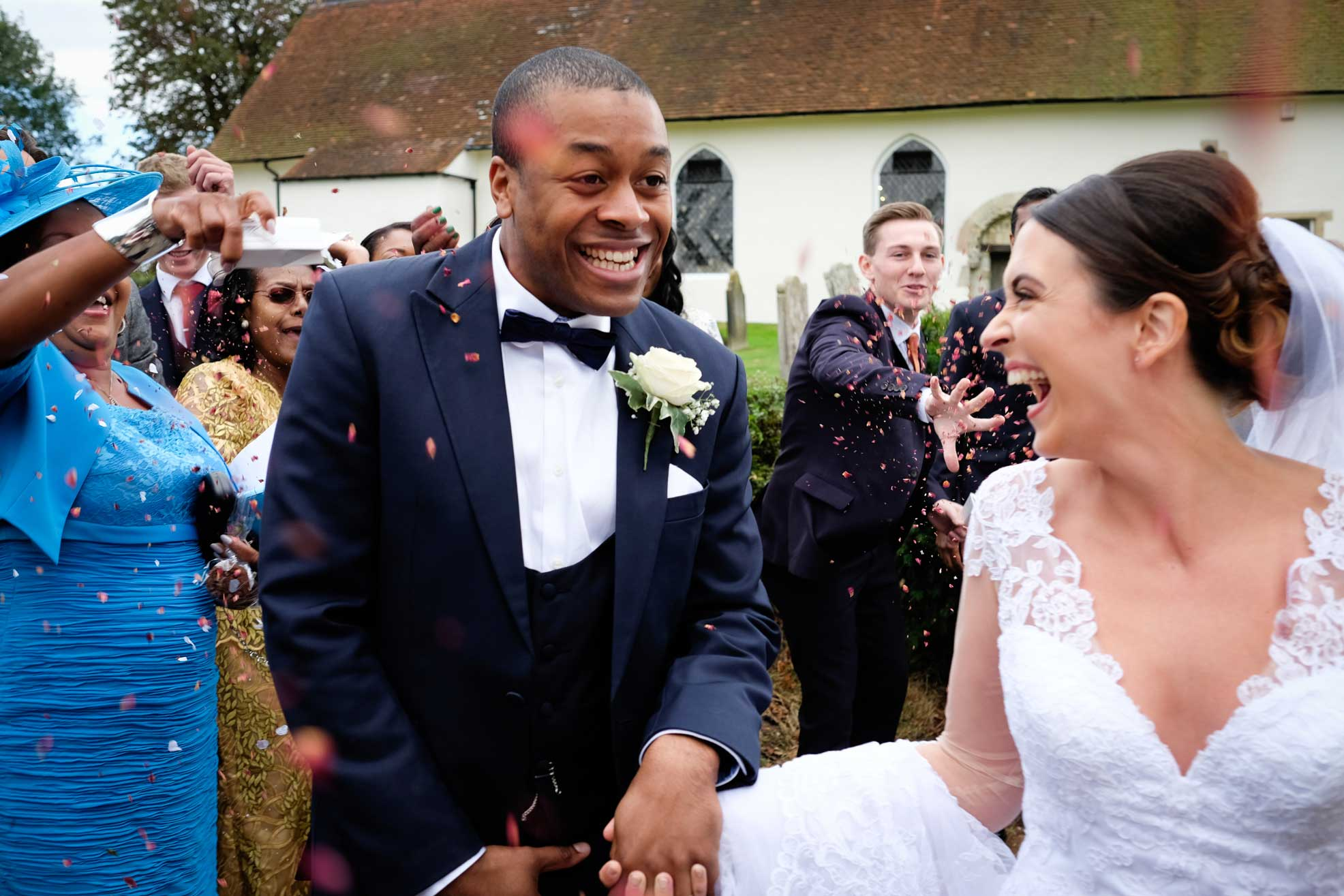 Image result for Bride and groom ask guests to take hay fever medication before wedding
